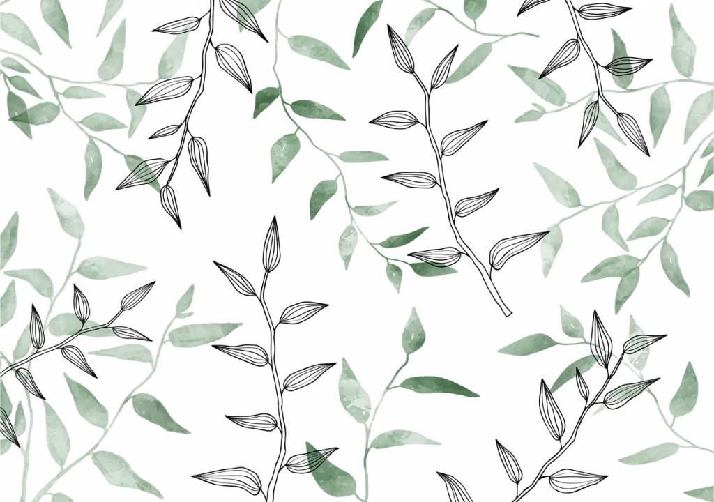 La décoration avec des motifs végétaux, une idée charmante